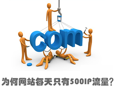 为何网站每天只有500IP流量